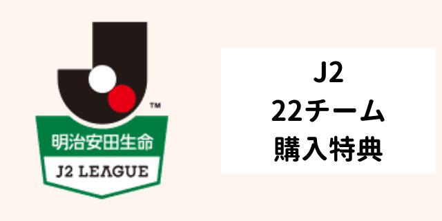 年間視聴パス特典 j2 全チーム