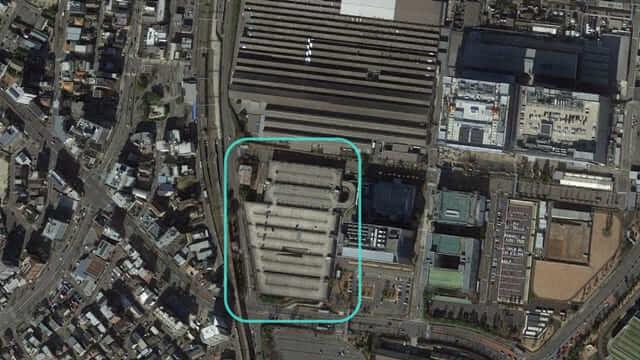 トヨタ本社駐車場