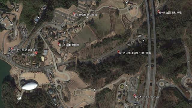 鞍ヶ池公園駐車場