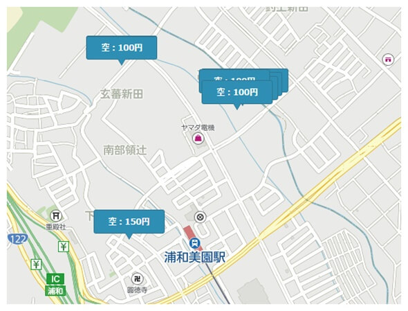 埼玉スタジアムの予約できる駐車場