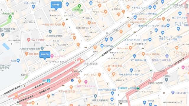 元町駅 予約できる駐車場