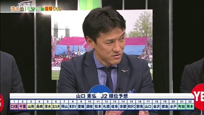 松本山雅はJ2で優勝できるか?山口素弘予想