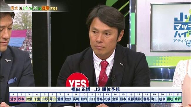 松本山雅はJ2で優勝できるか?福田正博予想