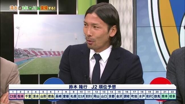 松本山雅はJ2で優勝できるか?鈴木隆行予想