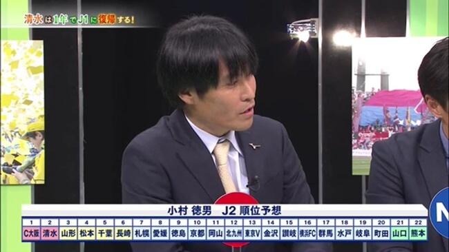 松本山雅はJ2で優勝できるか?小村徳男予想