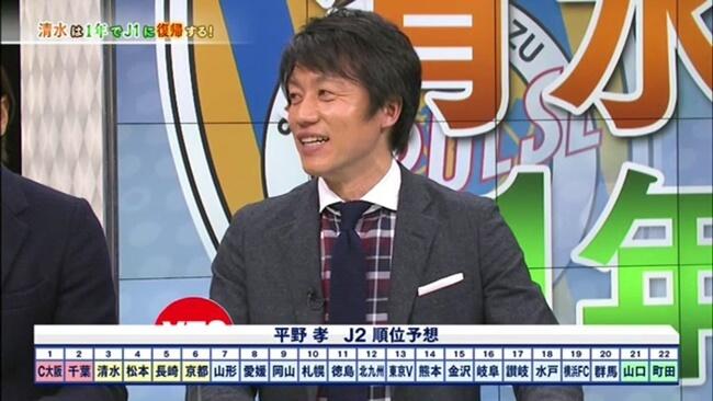 松本山雅はJ2で優勝できるか?平野孝予想