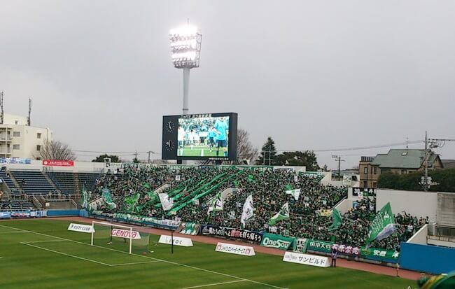 J2第2節横浜FC×松本山雅_バックスタンド山雅サポーター