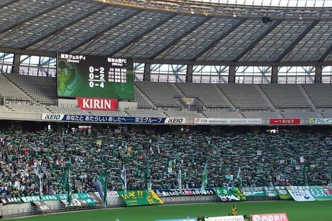 J2第11節東京V×松本山雅_試合終了