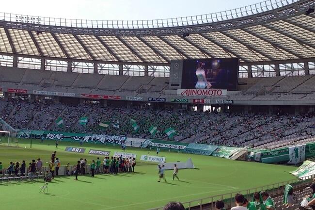 J2第11節東京V×松本山雅_東京Vサポ