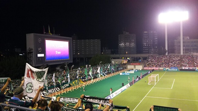 松本山雅×セレッソ大阪試合開始