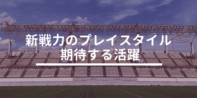 松本山雅 2019 新戦力
