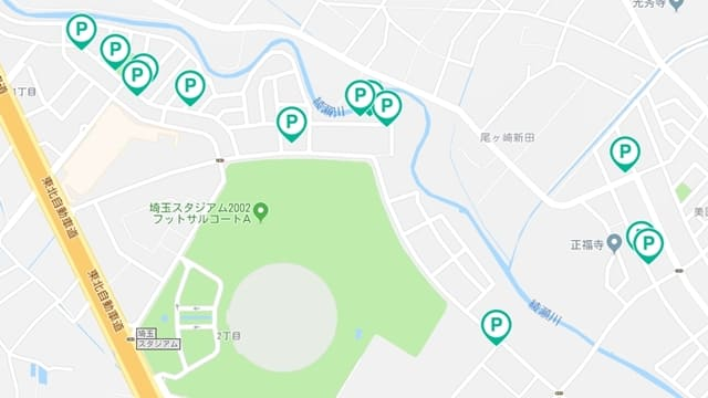 akippa 埼玉スタジアム 駐車場