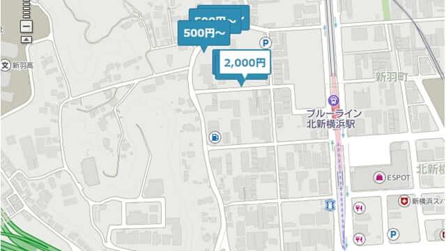 B-Times 北新横浜駅 駐車場