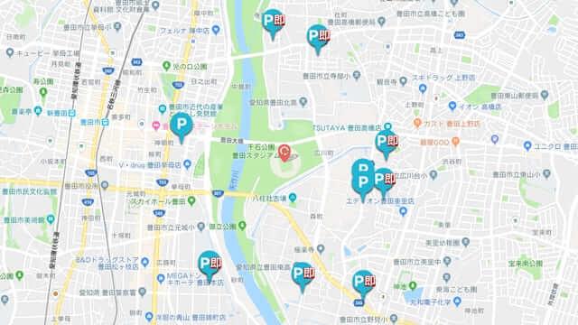 豊田スタジアム 軒先パーキング