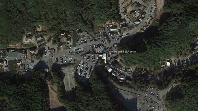 エコパの裏手法多山周辺の駐車場