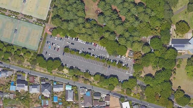 野川公園 駐車場