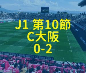 松本山雅 C大阪 2019