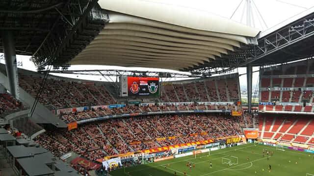 豊田スタジアム 3階席